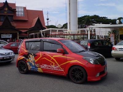 Myvi Dragonball GT