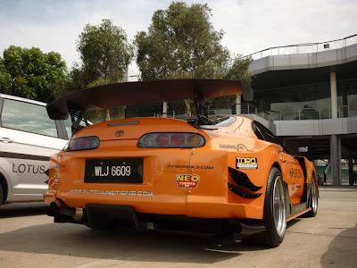 Supra Super GT style wide body kit