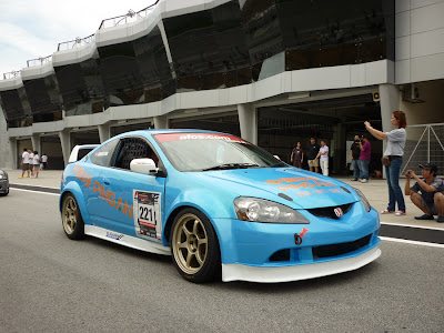 Time To Attack Sepang Modified Honda Integra Type R