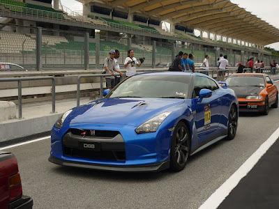 Time To Attack Sepang Nissan GTR R35