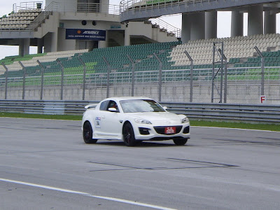 Time To Attack Sepang White RX8 Singapore