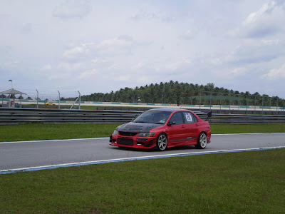Time To Attack Sepang Lancer Evolution Voltex bodykit