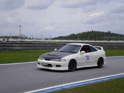 Time To Attack Sepang Honda Integra Type R DC2