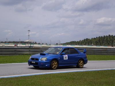 Time To Attack Sepang Subaru Impreza WRX STI ver 8