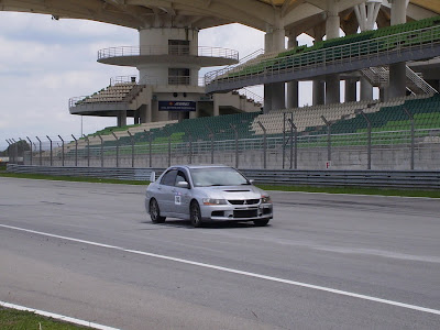 Time To Attack Sepang Silver Lancer Evolution 9