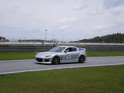 Time To Attack Sepang Silver RX-8