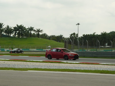 Time To Attack Sepang Lancer EX on the track