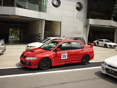 Time To Attack Sepang Mitsubishi Lancer Evolution VII