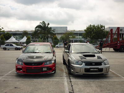 Time To Attack Sepang Mitsubushi Lancer Evo 9 VS Subaru Version 8 STI
