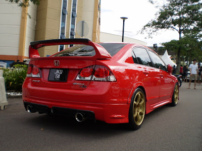 Civic Mugen RR body kit