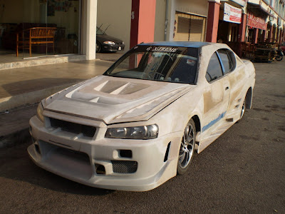 Skyline R34 style Wide Body Kit