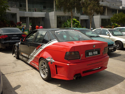 BMW E36 Race Car