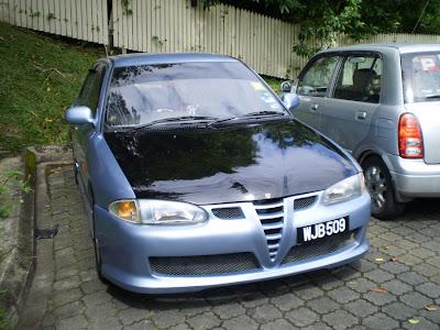 Wira Alfa Romeo Look