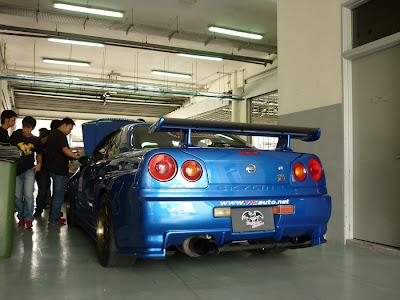 Nissan Skyline GTR R34 by Kazama Autoworks