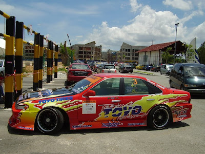 Nissan Cefiro A31 from Team Toyo Drift