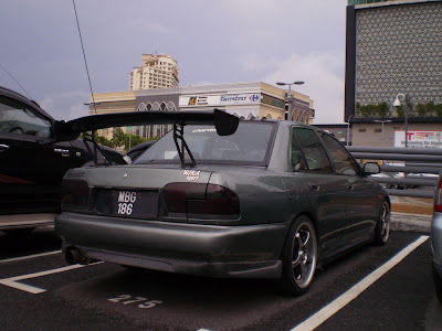 Wira Sedan with GT wing