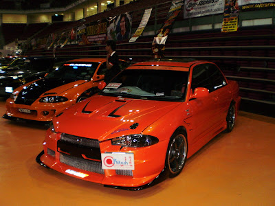 Proton Wira Lancer Evolution X body kit