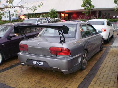 wira Evo IX style rear bumper