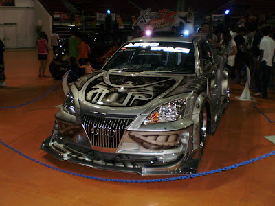 Modified Wira Aeroback with Extreme body kit