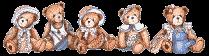 kolekcjonerskie Cherished Teddies - mam jednego :)