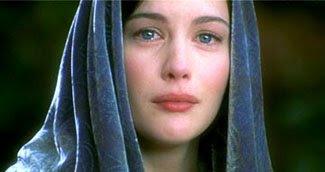 Arwen crying