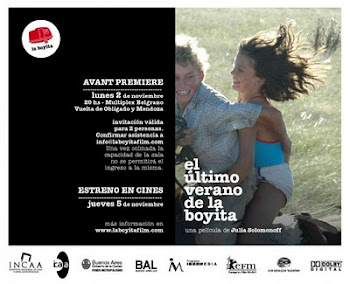 """El ltimo verano de la boyita"""