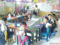 Suasana belajar TK