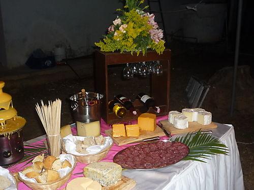 Le 39 premiere bodas - Mesa de quesos para bodas ...