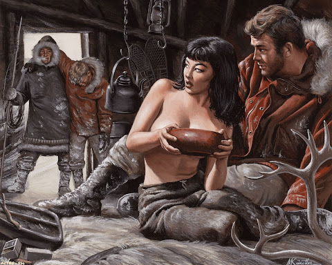 Mort Kunstler illustration
