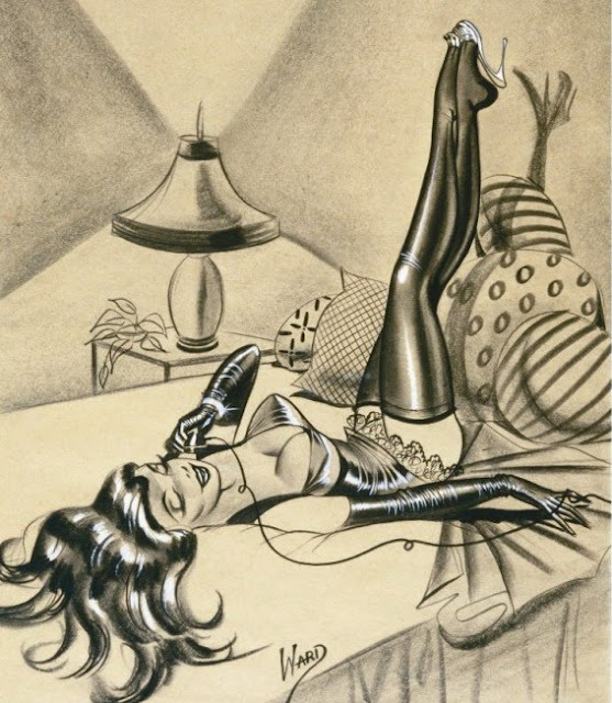 Bill Ward telephone girl