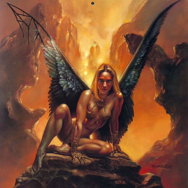 Boris Vallejo fantasy girl