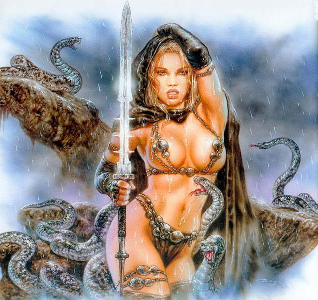 fantasy girl warrior