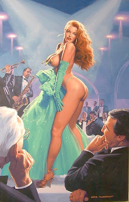 Greg Hildebrandt pin up