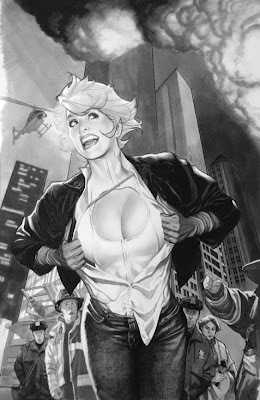 Adam Hughes girl art