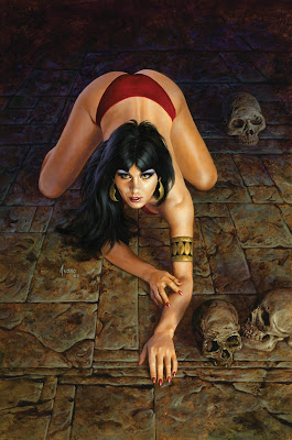 Joe Jusko drawing