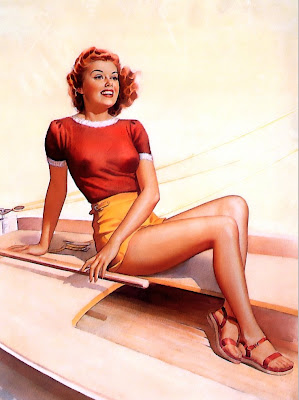 Pearl Frush classic pin up