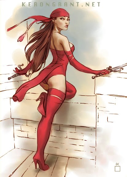 Electra comic