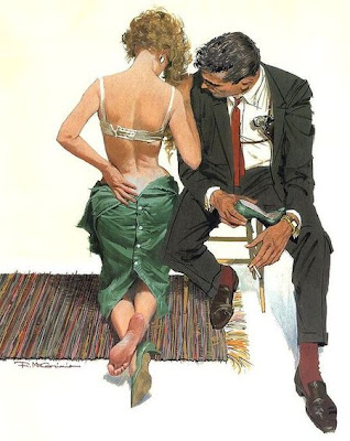 Robert McGinnis illustration