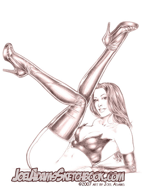 pin up drawings