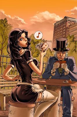 David Nakayama comic book