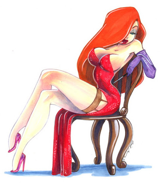 Jessica Rabbit by Arie Monroe