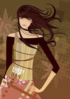 vector girl