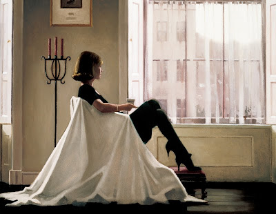 Jack Vettriano drawing