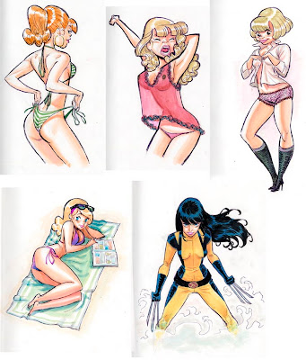 pin up cartoon girls