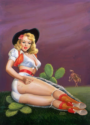 Peter Driben pin up