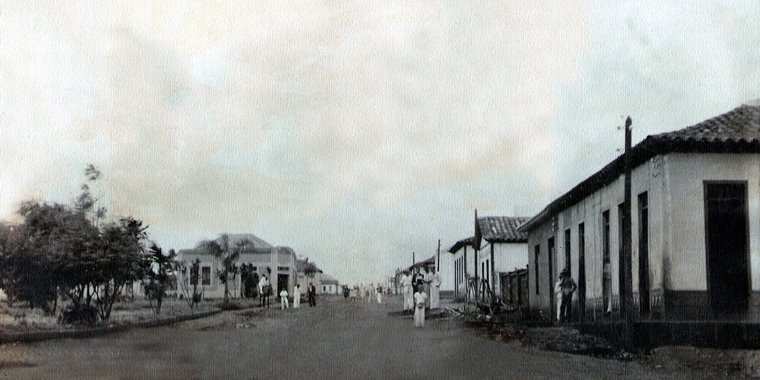 Goiatuba década de 50
