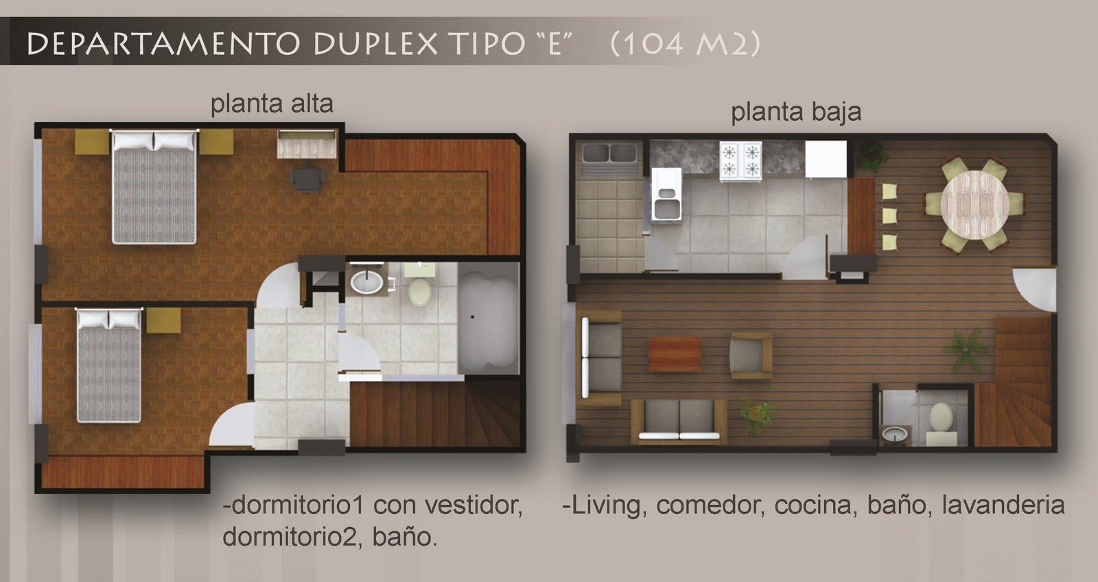 Baño Vestidor Planta:esta disponible en planta baja y 1er piso el tipo f en planta baja
