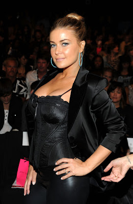 Carmen Electra So Hot In Black Style