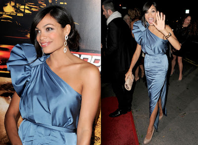 Rosario Dawson Lovely in Stella McCartney