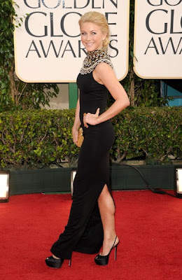 Julianne Hough Lovely In A Black Marchesa Resort 2011 Gown